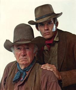 """The Guns of Will Sonnett""Walter Brennan, Dack Rambo circa 1967© 1978 Mario Casilli - Image 24345_0001"