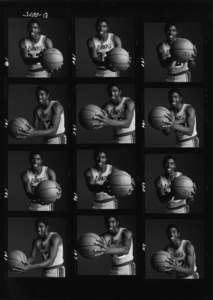 """Earvin """"Magic"""" Johnsoncirca 1980s© 1980 Daniel Lamb - Image 24348_0001"""