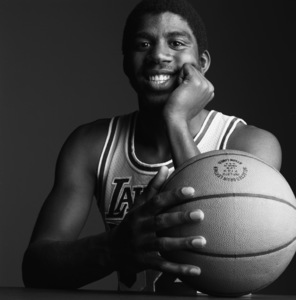 "Earvin ""Magic"" Johnsoncirca 1980s© 1980 Daniel Lamb - Image 24348_0009"
