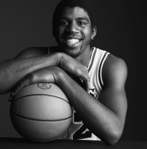 "Earvin ""Magic"" Johnsoncirca 1980s© 1980 Daniel Lamb - Image 24348_0011"