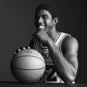 "Earvin ""Magic"" Johnsoncirca 1980s© 1980 Daniel Lamb - Image 24348_0012"