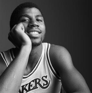 "Earvin ""Magic"" Johnsoncirca 1980s© 1980 Daniel Lamb - Image 24348_0014"