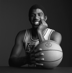 "Earvin ""Magic"" Johnsoncirca 1980s© 1980 Daniel Lamb - Image 24348_0016"