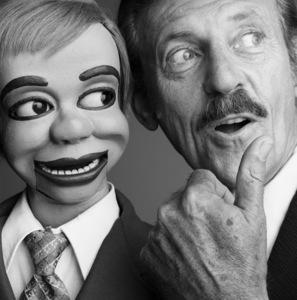 Paul Winchell and Jerry Mahoney1981© 1981 Daniel Lamb - Image 24348_0049