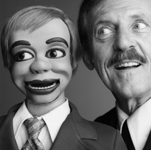 Paul Winchell and Jerry Mahoney1981© 1981 Daniel Lamb - Image 24348_0051