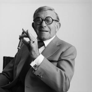 George Burns1985© 1985 Daniel Lamb - Image 24348_0057