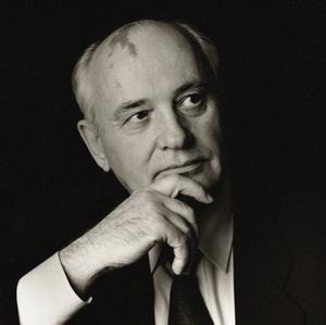 Mikhail Gorbachev1995© 1995 Dana Gluckstein - Image 24349_0011