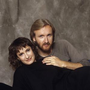 James Cameron and wife Gale Anne Hurdcirca 1985© 1985 Dana Gluckstein - Image 24349_0037