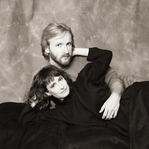 James Cameron and wife Gale Anne Hurdcirca 1985© 1985 Dana Gluckstein - Image 24349_0039