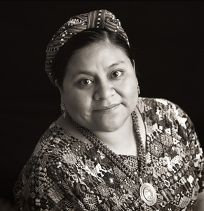 Rigoberta Menchu1995© 1995 Dana Gluckstein - Image 24349_0087