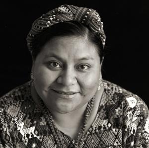 Rigoberta Menchu1995© 1995 Dana Gluckstein - Image 24349_0133