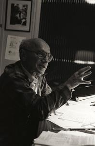 Milton Friedman1981© 1981 Dana Gluckstein - Image 24349_0145