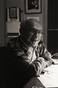 Milton Friedman1981© 1981 Dana Gluckstein - Image 24349_0146