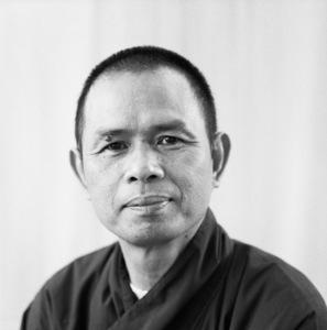 Thich Nhat Hanh at the Ojai Foundation in California1987 © 1987 Dana Gluckstein - Image 24349_0177