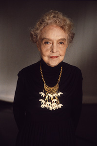 "Lillian Gish on ""An American Portrait""1985© 1985 Patrick D. Pagnano - Image 24351_0001"