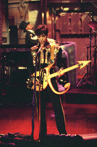 """Prince on the """"Late Show with David Letterman""""1994© 1994 Patrick D. Pagnano - Image 24351_0002"""