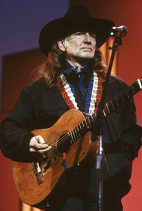 """Willie Nelson performing during the """"Country Music Association Awards""""1988© 1988 Patrick D. Pagnano - Image 24351_0006"""