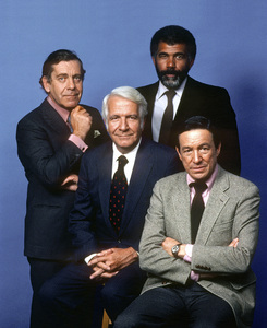 """60 Minutes""Morley Safer, Harry Reasoner, Ed Bradley, Mike Wallacecirca 1982© 1982 Patrick D. Pagnano - Image 24351_0019"