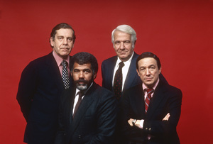 """60 Minutes""Morley Safer, Harry Reasoner, Ed Bradley, Mike Wallacecirca 1982© 1982 Patrick D. Pagnano - Image 24351_0020"