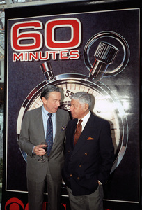 """""""60 Minutes""""Mike Wallace, Don Hewittcirca 1990s© 1990 Patrick D. Pagnano - Image 24351_0023"""