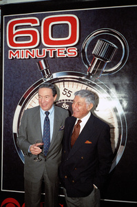 """""""60 Minutes""""Mike Wallace, Don Hewittcirca 1990s© 1990 Patrick D. Pagnano - Image 24351_0024"""