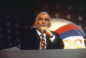 """60 Minutes""Ed Bradleycirca 1994© 1994 Patrick D. Pagnano - Image 24351_0031"