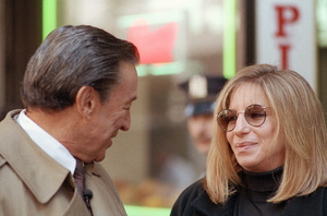 """""""60 Minutes""""Mike Wallace, Barbra Streisandcirca 1991© 1991 Patrick D. Pagnano - Image 24351_0047"""