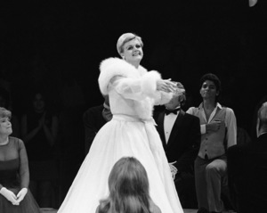 """Angela Lansbury performing in """"Mame"""" at the Westbury Music Fair in New York1972© 1978 Barry Kramer - Image 24354_0046"""