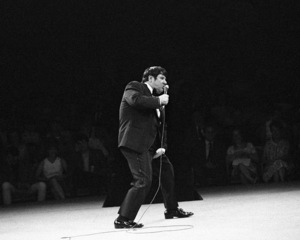 Buddy Hackett performing at the Westbury Music Fair in New York1968© 1978 Barry Kramer - Image 24354_0050