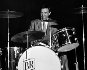 Buddy Rich performing at the Stonybrook Jazz Festival in New York1967© 1978 Barry Kramer - Image 24354_0051