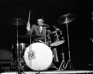 Buddy Rich performing at the Stonybrook Jazz Festival in New York1967© 1978 Barry Kramer - Image 24354_0052