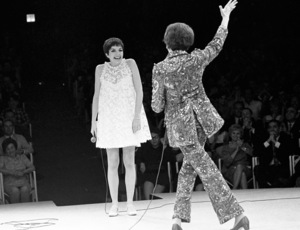 Judy Garland and Liza Minnelli performing at the Westbury Music Fair in New York1967 © 1978 Barry Kramer - Image 24354_0062