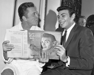Kirk Douglas and Ed Ames1963© 1978 Barry Kramer - Image 24354_0063