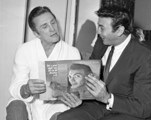 Kirk Douglas and Ed Ames1963© 1978 Barry Kramer - Image 24354_0064