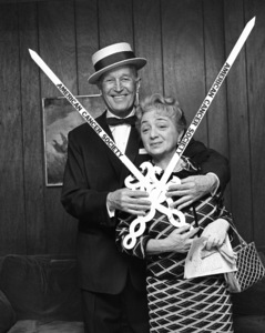 Maurice Chevalier and Molly Picon1967© 1978 Barry Kramer - Image 24354_0066