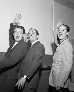 Tom Poston, Louis Nye and Don Knotts1959© 1978 Barry Kramer - Image 24354_0091