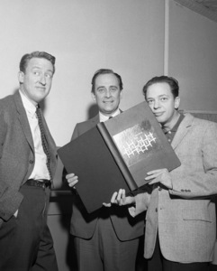 Tom Poston, Louis Nye and Don Knotts1959© 1978 Barry Kramer - Image 24354_0092