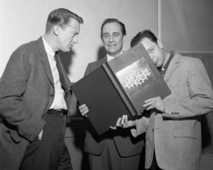 Tom Poston, Louis Nye and Don Knotts1959© 1978 Barry Kramer - Image 24354_0093