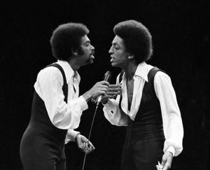 Gregory and Maurice Hines performing at Westbury Music Fair in New York1971© 1978 Barry Kramer - Image 24354_0099