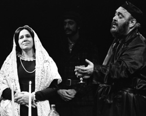 "Zero Mostel performing in ""Fiddler on the Roof"" at Westbury Music Fair in New York 1971© 1978 Barry Kramer - Image 24354_0121"