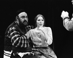 "Zero Mostel performing in ""Fiddler on the Roof"" at Westbury Music Fair in New York 1971© 1978 Barry Kramer - Image 24354_0124"