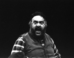 """Zero Mostel performing in """"Fiddler on the Roof"""" at Westbury Music Fair in New York 1971© 1978 Barry Kramer - Image 24354_0125"""
