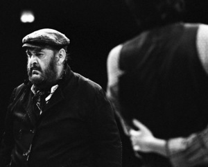 "Zero Mostel performing in ""Fiddler on the Roof"" at Westbury Music Fair in New York 1971© 1978 Barry Kramer - Image 24354_0130"