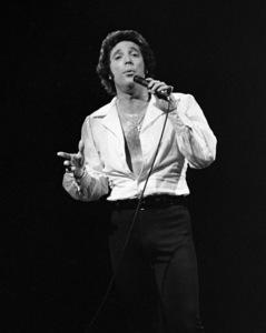 Tom Jones performing at Westbury Music Fair in New York1971© 1978 Barry Kramer - Image 24354_0149