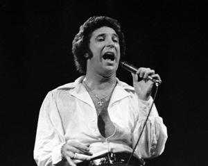 Tom Jones performing at Westbury Music Fair in New York1971© 1978 Barry Kramer - Image 24354_0150