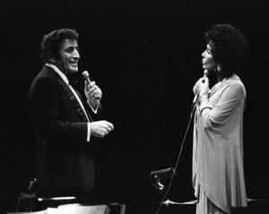 Tony Bennett performing with Lena Horne at Westbury Music Fair in New York 1974 © 1978 Barry Kramer - Image 24354_0174