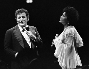 Tony Bennett performing with Lena Horne at Westbury Music Fair in New York 1974 © 1978 Barry Kramer - Image 24354_0176