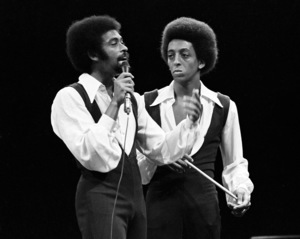 Gregory and Maurice Hines performing at Westbury Music Fair in New York 1971 © 1978 Barry Kramer - Image 24354_0194