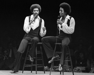 Gregory and Maurice Hines performing at Westbury Music Fair in New York 1971 © 1978 Barry Kramer - Image 24354_0197