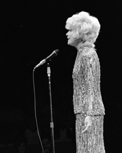 Carol Channing performing at Westbury Music Fair in New York 1971 © 1978 Barry Kramer - Image 24354_0210